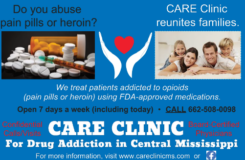 CARE Clinic for Drug Addiction in Central Mississippi